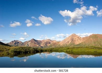 Lake in Denali
