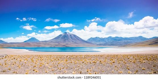 Lake in the desert, Atacama