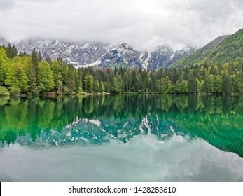 lake di fuzine in italy