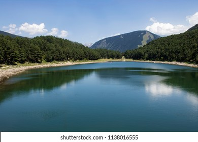 Lake of Engolasters in Andorra
