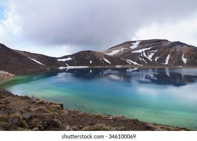 Lake Esmerald, Tongariro