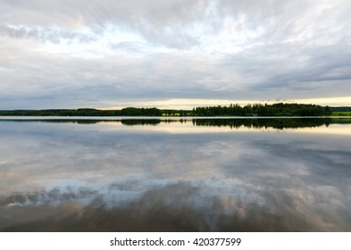 Lake in Finland.