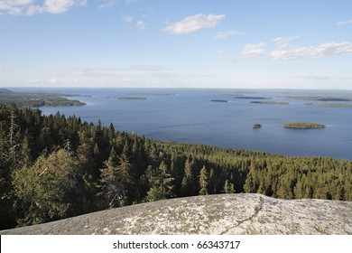 A Lake in Finland. Photographed in Koli National Park in eastern Finland.