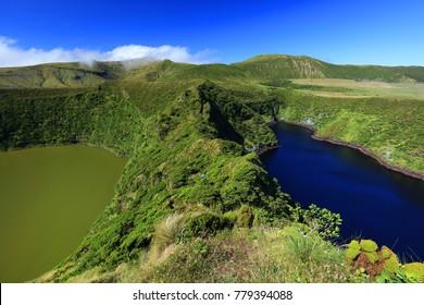 Lake Fonda, Flores Island, Azores Archipelago, Portugal, Europe