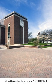 Lake Forest College library building.