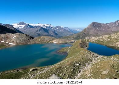 Lake of French alps , Vanoise Range