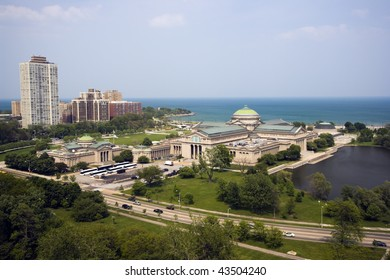Lake front in Chicago - South Side.