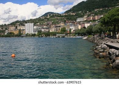 Lake front, Montreux, Switzerland