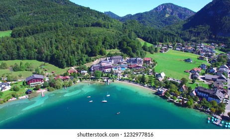 Lake Fuschl is a lake in the Salzkammergut , Fuschlsee  [AUSTRIA]  amazing place in austria and in world
