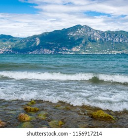 Lake Garda is the largest lake in Italy
