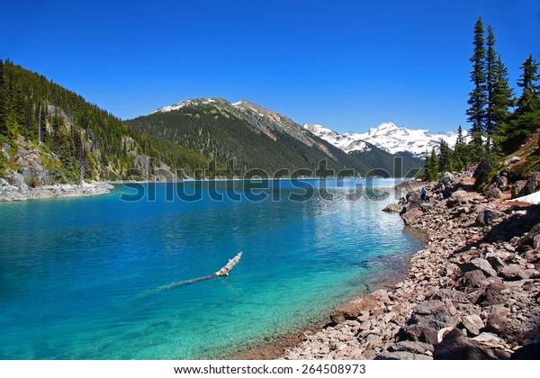 Lake Garibaldi in British Columbia, Canada