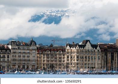 Lake Geneva Embankment