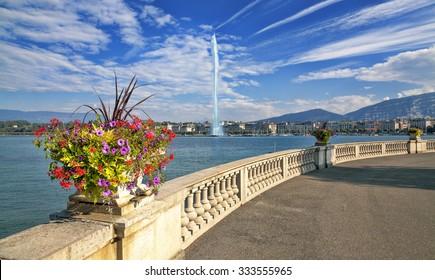 Lake Geneva Embankment.