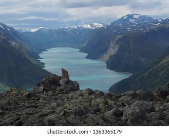 Lake Gjende, Jotunheimen Park, Norway