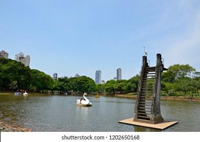 Lake in Goiania, Brazil