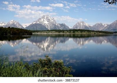 Lake at the Grand Tetons National Park