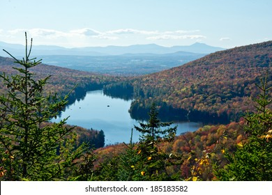 Lake Groton is in the heart of Vermont's Groton State Forest.