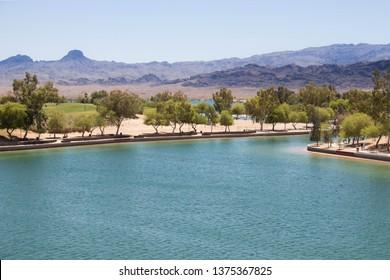 Lake Havasu Shoreline Trail - Colorado River - Arizona
