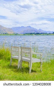 Lake Hayes in a summer day, New Zealand.