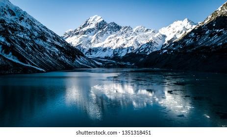Lake Hooker & Mount Cook - New Zealand