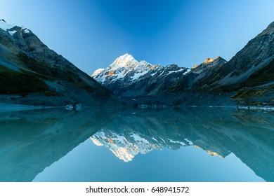 Lake Hooker, NZ