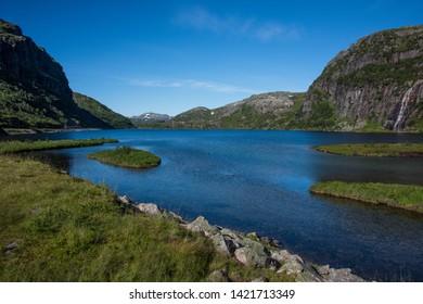 Lake Hunnevatn in Eastern Norway / Telemark, Scandinavia