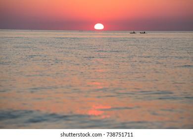 A Lake Huron sunset. Ontario, Canada.