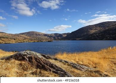 Lake Inchiquin on the Beara Peninsula, Co.Kerry, Ireland