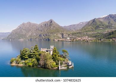 Lake of Iseo, island of Loreto