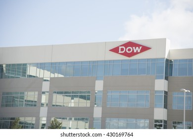 Lake Jackson, Texas MAY 31, 2016:  Dow Chemical company's new Texas Innovation Center built in 2015.