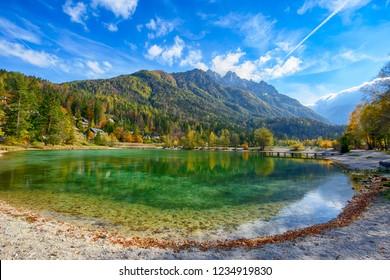 Lake Jasna in Slovenia