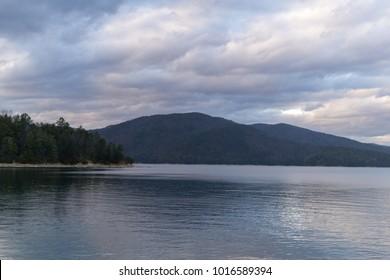 Lake Jocassee from Devil's Fork State Park