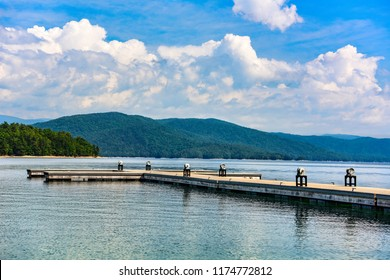 Lake Jocassee in Upstate South Carolina SC.