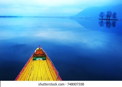 Lake in kashmir, India one of the most famous tourist place