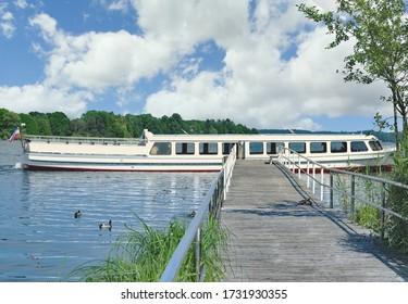 Lake Kellersee in Malente,Holstein Switzerland region,Schleswig Holstein,Germany