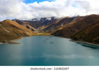 Lake Kezenoy-am. Chechnya, Caucasus.