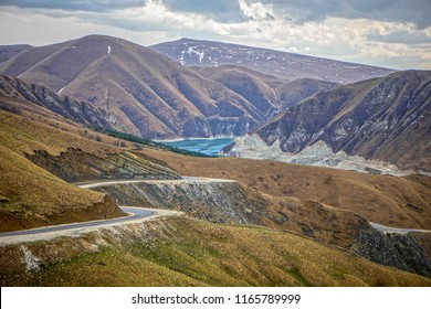 Lake Kezenoyam - is the deepest lake in the Caucasus Mountains, mostly in Chechnya but partly in Dagestan in the Russian Federation.