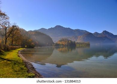 Lake Kochelsee Bavaria, Germany