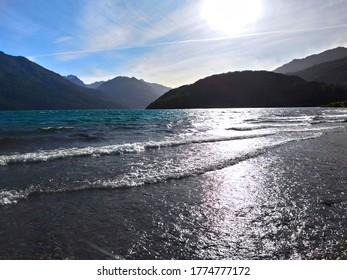 Lake of Lago Puelo, Chubut. Argentina.