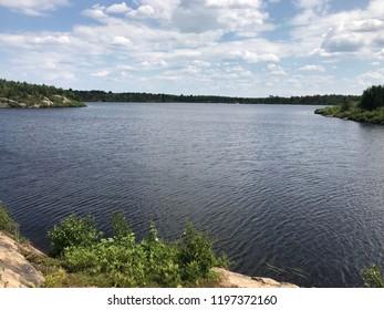 Lake Laurentian Sudbury Ontario