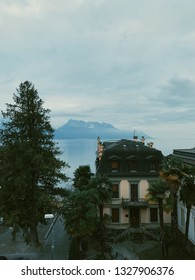 Lake Leman from a terrace
