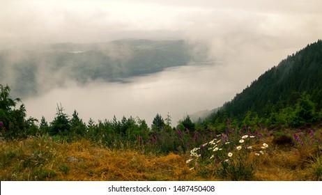 Lake Loch Ness in Scotland