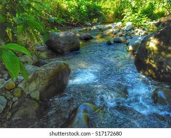 Lake at Lombongo Hot Water Bath, Gorontalo