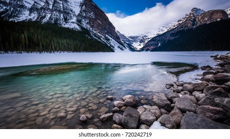 Lake Louise in early spring, Canada