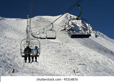 Lake Louise Ski Resort, Lake Louise, Banff National Park, Alberta, Canada