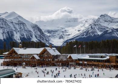 Lake Louise Ski Resort, British Columbia, Canada