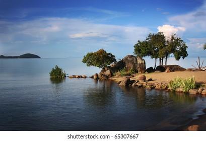 Lake Malawi in Africa