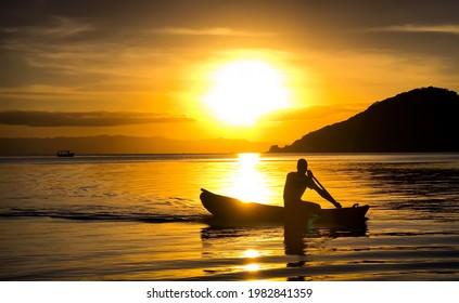Lake Malawi | Man On a Boat