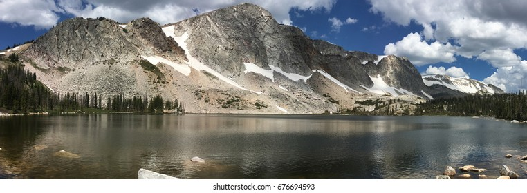 Lake Marie in the Snowy Range, Wyoming