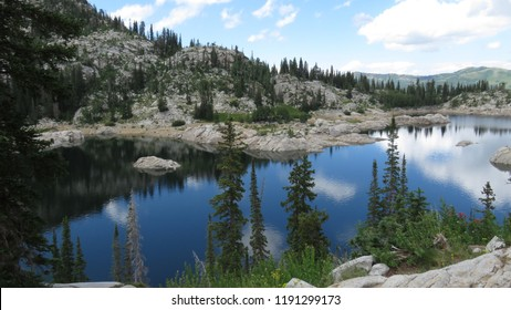 Lake Mary in the Wasatch Mountains of Utah